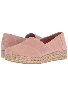 TOMS Shoes Platform Alpargata