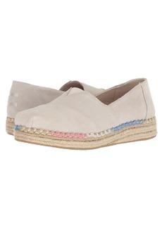 TOMS Shoes Platform Alpargata