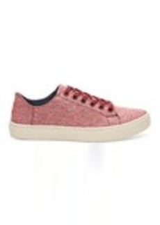 Pomegranate Woven Melange Women's Lenox Sneaker