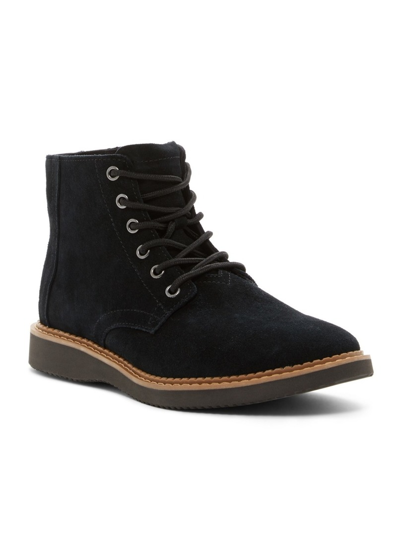 TOMS Shoes Porter Suede Chelsea Boot
