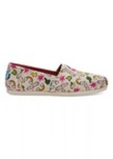 TOMS Shoes Rainbows Women's Classics