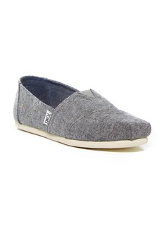 TOMS Shoes Speckle Chambray Classics Slip-On Sneaker