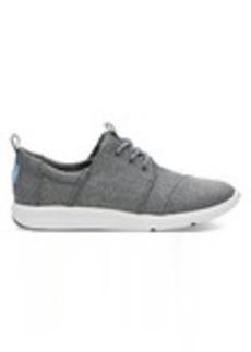 Steel Grey Poly Women's Del Rey Sneakers