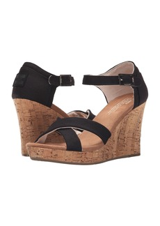 TOMS Shoes Strappy Wedge