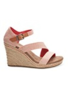 Tangerine Yarn Dye Women's Clarissa Wedges