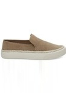 Toffee Suede Women's Sunset Slip-Ons