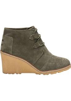 TOMS Shoes TOMS Women's Desert Wedge Boot