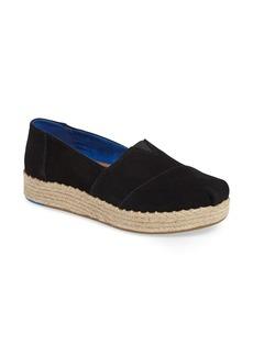 TOMS Shoes TOMS Alparagata Espadrille Platform Slip-On (Women)