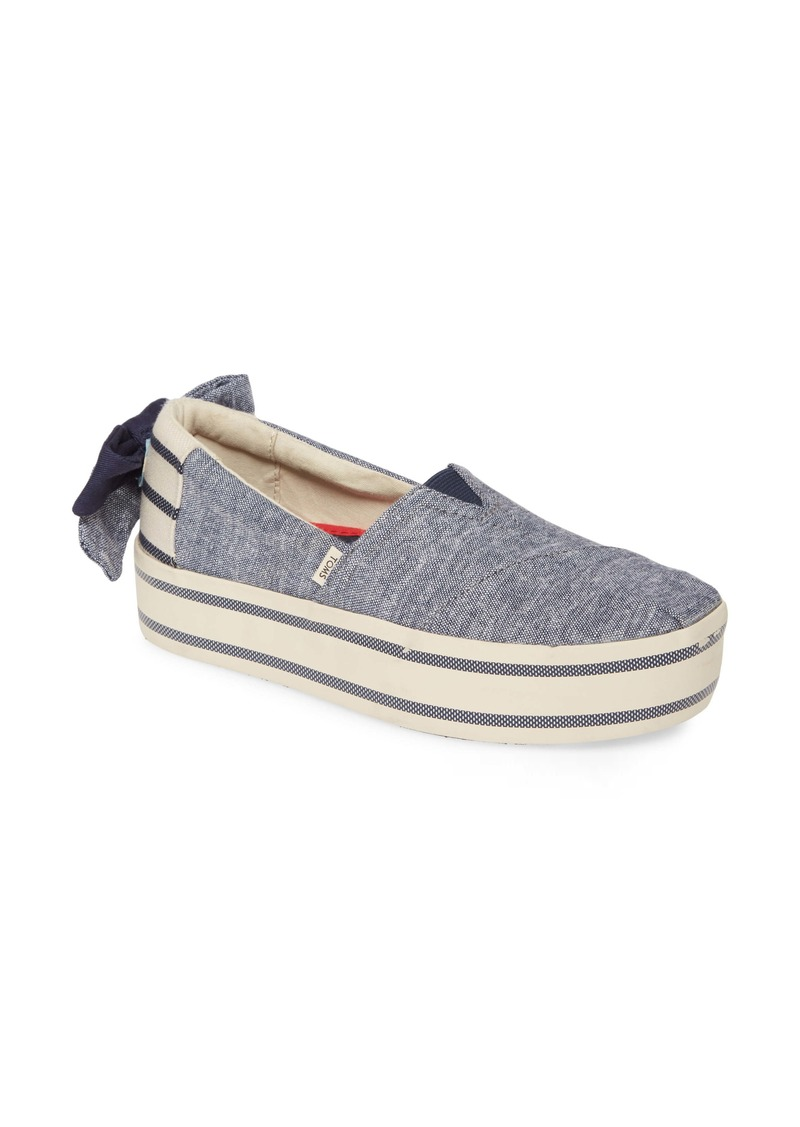 TOMS Shoes TOMS Alpargata Boardwalk Platform Slip-On (Women)