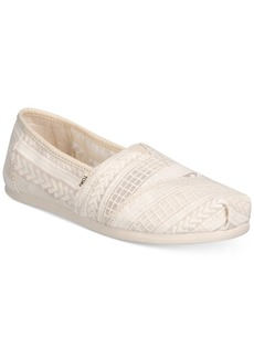 TOMS Shoes Toms Alpargata Espadrille Slip On Flats Women's Shoes