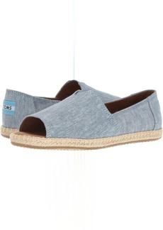 TOMS Shoes Alpargata Open Toe