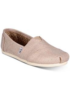 TOMS Shoes Toms Alpargata Patterned Slip On Flats Women's Shoes