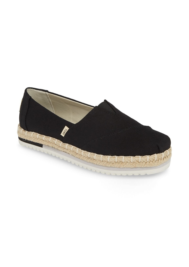 TOMS Shoes TOMS Alpargata Platform Sneaker (Women)