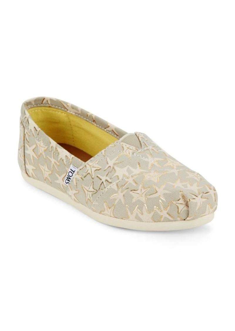 2c338597bd TOMS Shoes TOMS Alpargata Seasonal Classic Star Slip-Ons