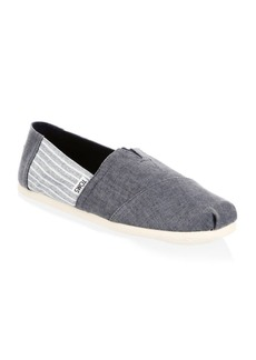 TOMS Shoes Alpargata Stripe Classic Slip-Ons