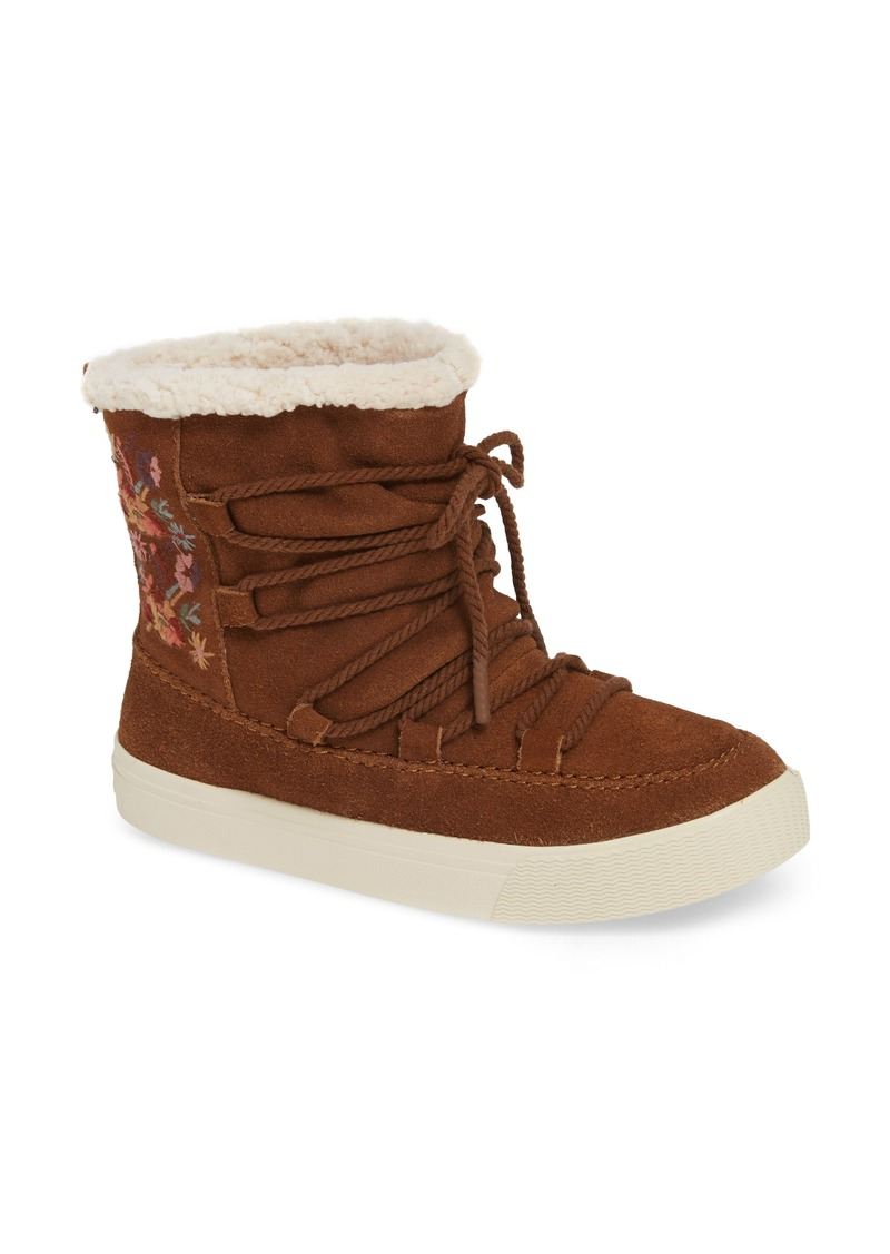 2e1b57d60a6 TOMS Shoes TOMS Alpine Faux Fur Lined Bootie (Women)
