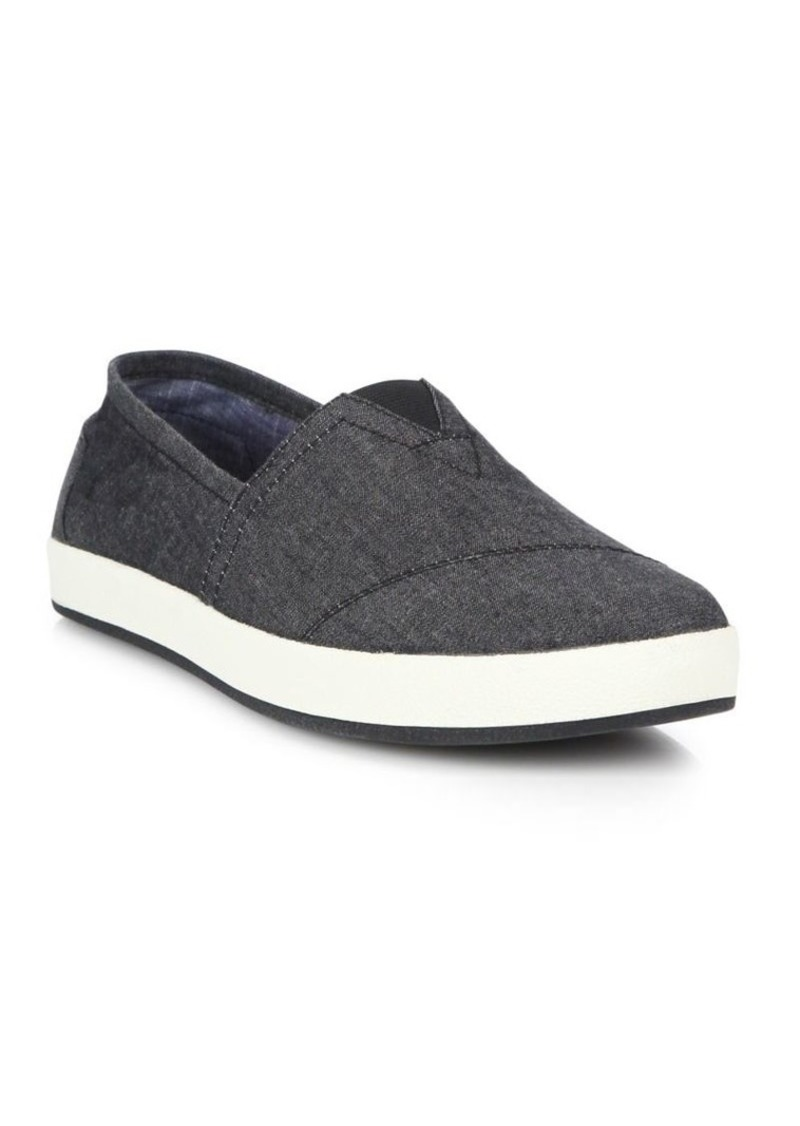 fb32d00a23c TOMS Shoes Toms Avalon Chambray Slip-On Sneakers