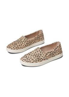 TOMS Shoes TOMS Avalon Leopard Print Slip-On Sneaker (Women)