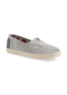 TOMS Shoes TOMS 'Avalon' Textured Woven Slip-On (Women)
