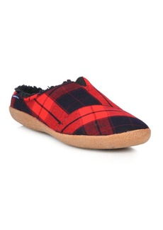 TOMS Shoes Berkeley Plaid Canvas Slippers