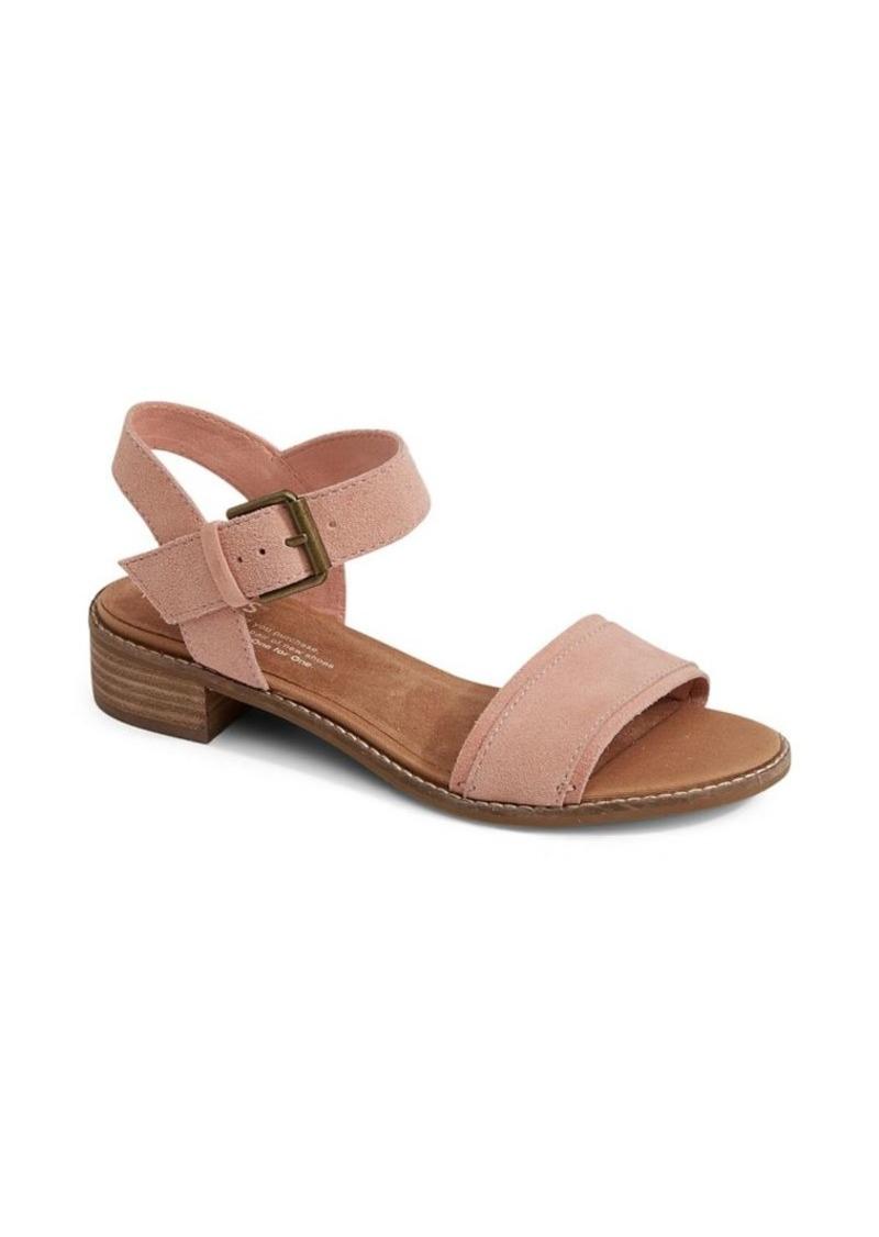 53d2ed8dd00 TOMS Shoes TOMS Camilia Suede Sandals