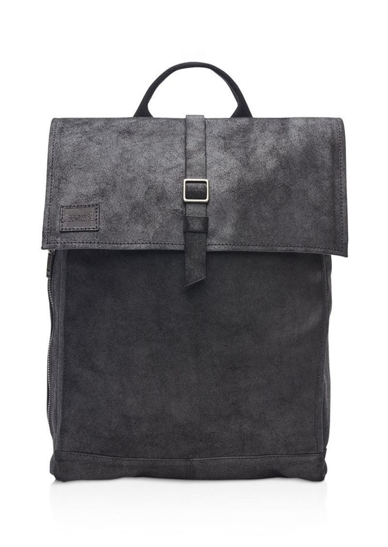 TOMS Shoes TOMS Canvas Leather Trekker Backpack