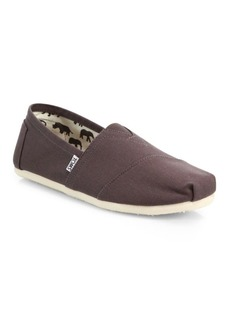 TOMS Shoes Canvas Slip-Ons