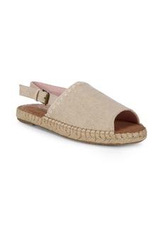 TOMS Shoes Clara Canvas Slingback Espadrilles