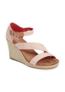 TOMS Shoes TOMS Clarissa Wedge Sandal (Women)
