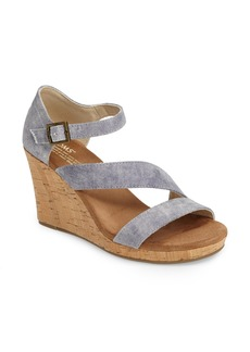 TOMS Clarissa Wedge Sandal (Women)