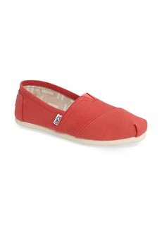 TOMS Classic Alparagata Washed Twill Slip-On (Women)