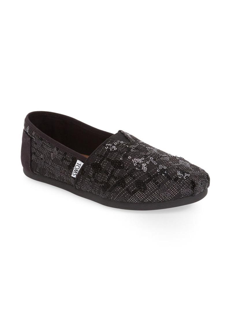 961d74a81a43 TOMS Shoes TOMS Classic Sequin Glitz Slip-On (Women) | Shoes