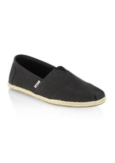 TOMS Shoes Classic Two-Toned Slip-Ons