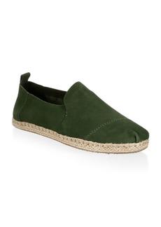 TOMS Shoes Deconstructed Alpargata Suede Espadrilles