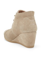TOMS Shoes TOMS 'Desert' Wedge Bootie (Women)