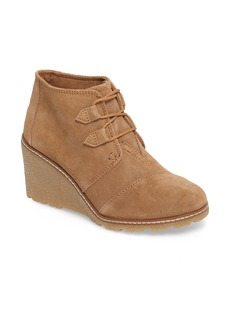 TOMS Shoes TOMS Desert Wedge Bootie (Women)