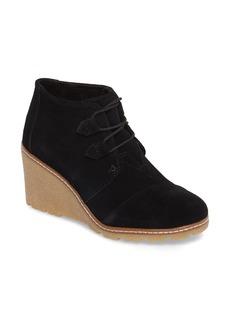 TOMS Shoes TOMS Desert Wedge Bootie (Women)