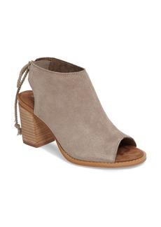 TOMS Shoes TOMS Elba Peep-Toe Bootie (Women)