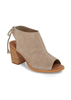 TOMS Shoes TOMS Elba Peep-Toe Bootie (Women)