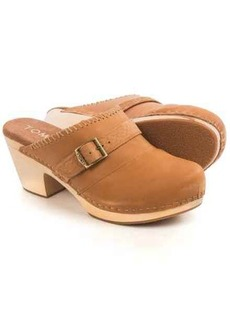 TOMS Shoes TOMS Elisa Open-Back Clogs - Leather (For Women)
