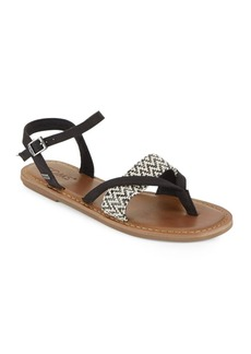 TOMS Shoes TOMS Gladiator-Inspired Lexie Flat Sandals