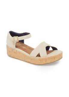 TOMS Shoes TOMS Harper Platform Sandal (Women)