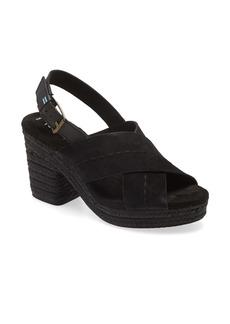 TOMS Shoes TOMS Ibiza Platform Slingback Sandal (Women)