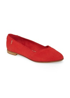 TOMS Shoes TOMS Julie Almond Toe Flat (Women)
