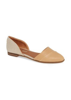 TOMS Shoes TOMS Jutti dOrsay Flat (Women)
