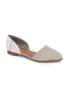 TOMS Shoes TOMS Jutti d'Orsay Flat (Women)