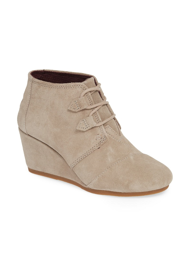 TOMS Shoes TOMS Kala Wedge Bootie (Women)