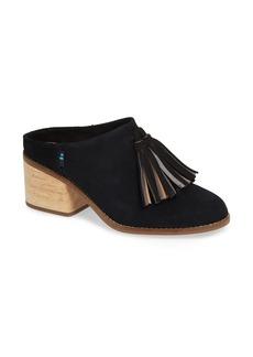 TOMS Shoes TOMS Leila Tassel Mule (Women)