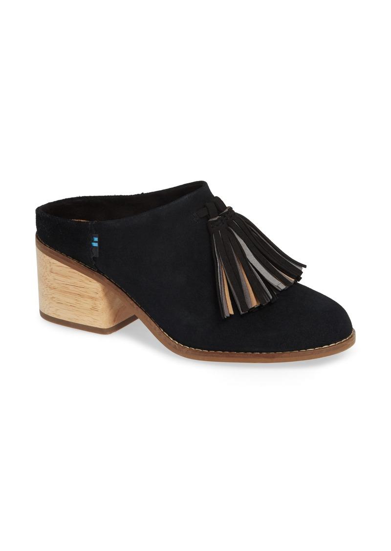 3bf79a97857 TOMS Shoes TOMS Leila Tassel Mule (Women)