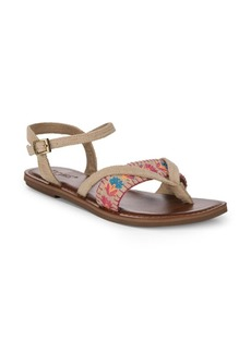 Lexie Embroidered Sandals